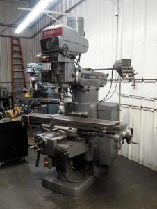 2007 Bridgeport Series II Milling Machine, Serial Number HJ317717