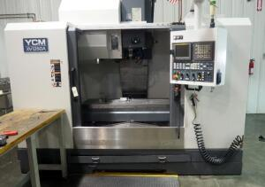 2011 YCM CNC Machining Center With Fanuc MXP-100i Control, 24 Pocket Tool Changer, Model XV1250A, Serial Number 0064.222922 - SEE VIDEO