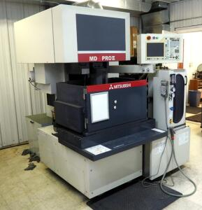 2009 Mitsubishi Wire EDM Machine With Automatic Threader, Model MD+Pro II, Serial Number 09D8B237