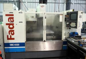 2001 Fadal VMC 4020 Machining Center, Model 912-1, Includes Hydro Sweep Chip Removal System And Pallet Changer, 10,000 RPM Spindle, - SEE VIDEO