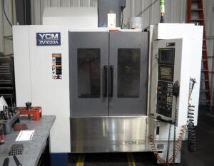 2010 YCM XV-1020A CNC Machining Center With Fanuc MXP-100i Control, Chip Auger, Serial Number 0283 - SEE VIDEO