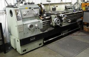2010 Longem HD Engine Lathe With 4 Jaw Chuck, Steady Rest, And Tailstock, And Acu-Rite Digital Readout; Model 20.80, Serial Number 100282