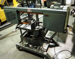 "Ellis Mitre Band Saw, Model 1800, Serial Number 18032138, Blade Size 11' x 1"" x .03"""