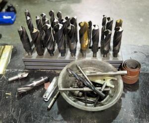 "Drill Bit Assortment With 1/2"" Shank"