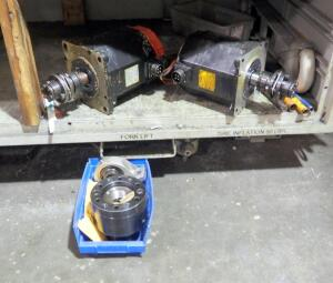 Fanuc AC Service Motors Model Number AC12/2000, Seal Master MP-20C CR, And More