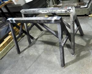 "Metal Material Stands, 30"" x 49"", Qty 2"