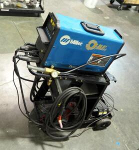 Miller Dynasty 200 TIG Welder; Including Welding Cart, Leads, Foot Switch, And Welding Helmet