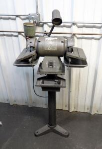 "Central Machinery 6"" Tool Grinder, Model 46727, 1/2 HP, On 3' Stand"