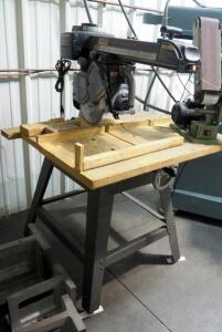 "Craftsman 10"" Radial Arm Saw With Base"