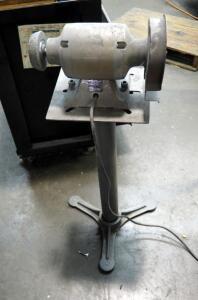 "Tradesman 6"" Bench Grinder, Model 8260, 1/2 HP, On Stand"