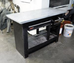 "Craftsman 3 Drawer Workbench, Model 706.597462, 37"" x 54"" x 23"""