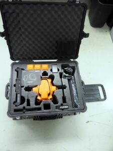 Refurbished Yuneec H520-E90 Drone Bundle - H520 Airframe, ST16S, (3) Batteries, Charger, E90 3-Axis Gimbal Camera In Pelican 1620 Case, And More