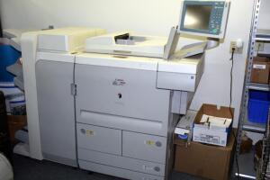 Canon ImageRUNNER 7095 Copier/Printer With In-Line Perfect Bookbinding Saddle-Stitched Booklet Capability