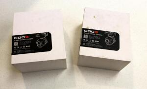 Refurbished Yuneec CG03 4K UHD Cameras (Q500 4K), Qty 2, In Original Box