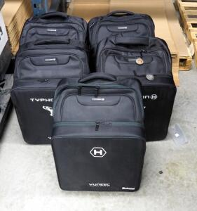Yuneec Complete Refurbished Typhoon H Drones In Backpacks Including Ground Stations (No Camera), Qty 5