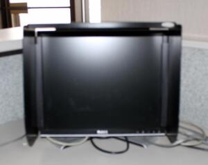 "Dell 17"" LCD Monitor, Model 1707FPC, With Privacy Screen And Detachable Stand"