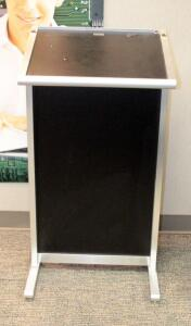 "Lectern Australia Portable/Adjustable Lectern - 45"" x 24"" x 20"""