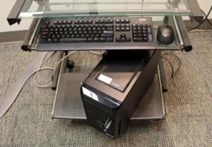Dell Vostro PC Tower With Windows 7 Pro, Wireless IBM Keyboard - Model SK-8812, And Wireless Microsoft Mouse