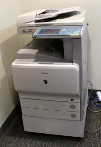 "Canon Color imageRUNNER C2550 Copier/Printer, Powers On - 46"" x 24"" x 30"""