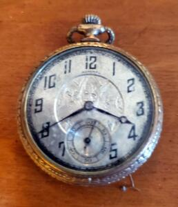 Antique Admiral Winding Pocket Watch