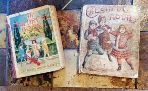 "Antique Children's Books Including ""The Children's Book"" Dated 1915, And ""Cheerful Hours"" Dated 1889"