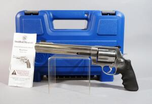 "Smith & Wesson Model 500 .500 S&W Magnum 5-Shot Revolver SN# CZW2740, 8.375"" Barrel, With Paperwork, In Original Hard Case"