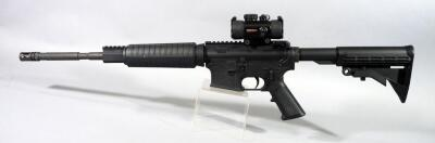 Anderson MFG AM-15 5.56 NATO Rifle SN# 16274169, With Adjustable Stock, Vented Muzzle, TruGlo Sight, Red And Dot Sight, No Mag