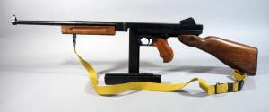 "Auto-Ordnance Thompson M1 ""Tommy Gun"" .45 ACP Rifle SN# KC8663, With 2 Total Mags And Canvas Sling"