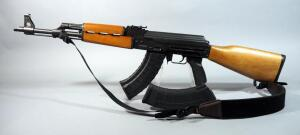 Zastava Serbia N-PAP M70 7.62 x 39mm Rifle SN# N-PAP041335, With Padded Nylon Sling, 2 Total Mags