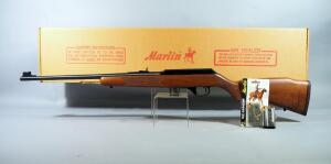 Marlin Model 922M .22 WMRF Rifle SN# 05576725, Checkered Walnut Stock, With 3 Total Mags, In Original Box