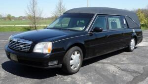 2001 Cadillac Deville S&S Masterpiece Hearse, Northstar 32 Valve V8, 4.6L, Commercial Chassis, 100,287 Miles, VIN # 1GEEH90Y21U500171, See Video
