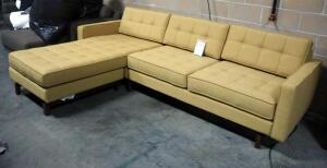 "Gus Jane 2 Bi-Sectional Sofa With Chaise, Approx 30"" High x 100"" Long"