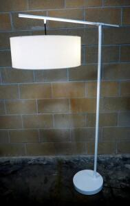 "EQ3 Conick Floor Lamp, Holds 2 Bulbs, In-Line Switch, 65"" High x 36"" Wide, Powers On"