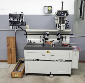"Sunnen Valve Guide And Seat Machine Model # VGS-20, Includes Tooling And 32"" Table Bidder Responsible For Proper Removal"