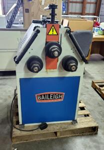 2011 Baileigh Industrial Hydraulic Roll Bender, Model # MAM-50/2, 220 V, Includes Foot Controls And Accesssories Bidder Responsible For Proper Removal