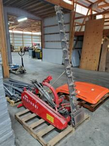EnoRossi Sickle Bar Mower Attachment, Model # BF-180 Bar Measures 6', 3 Point Hitch With Hydraulic Hookup