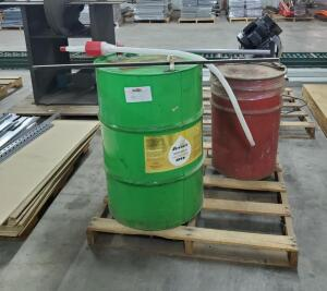Sunnen Honing Oil, Partial 55 Gallon Drum, Carberator Cleaner, Partial Drum, Drum Pump And Depth Gage Stick