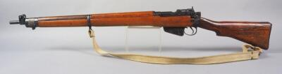 Long Branch No. 4 MK I .303 British Bolt Action Rifle SN# 61L2075, S In Circle And Ordnance Corps Symbols Stamped In Stock, With Canvas Sling