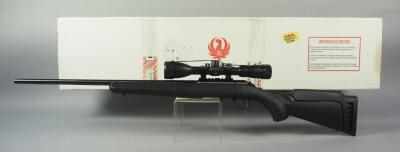 Ruger American .22 LR Bolt Action Rifle SN# 833-63550, With BSA 3-9x40 Scope, In Original Box