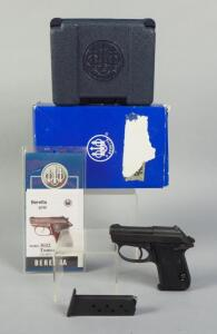 Beretta 3032 Tomcat .32 Auto Pistol SN# DAA295802, With 2 Total Mags, Paperwork, In Hard Case And Original Box