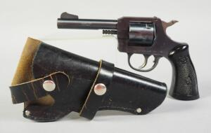 Harrington & Richardson Model 732 .32 S&W 6-Shot Revolver SN# AH30343, With FIE Leather Holster