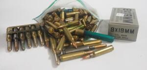 Assorted Ammo, Includes .410 Shells, .22, 44-40, .45 Auto, .38 S&W, 32-20, 9x19 And More, Local Pickup Only