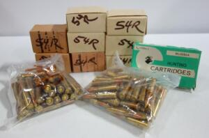 7.62x54R Ammo, Approx 280 Rounds, Local Pickup Only