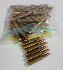 7.62 x 51 Ammo, Approx 45 Rounds, Local Pickup Only