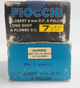 Fiocchi Flobert 9mm Ammo, Approx 93 Rounds, Local Pickup Only