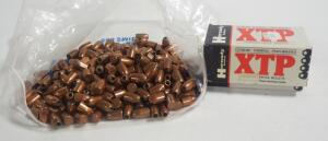Hollow Point Pistol Bullets, Includes Hornady 9mm 147 gr And Unmarked, Uncounted, Weighs 4.7 lbs, Local Pickup Only