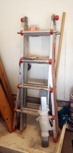 American Titan Conversion Ladder By Little Giant Ladder Company, Model AT1117, 250 LB Capacity