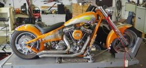 2001 ASVE Custom Blower Bike With 2004 Super Sport Engine, Created By Kim Suter, Custom Painted By Scott Thomas Of Custom Innovations, Click For More