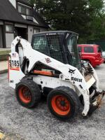 Bobcat S185 Turbo Skid Steer Loader Cab With Heat And Air 961.3 Hours Showing, Manuals And Service Records Available, SEE VIDEO
