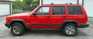 1998 Jeep Cherokee Multipurpose Vehicle (MPV), 114,352 Miles Showing, VIN # 1J4FJ68S0WL255085